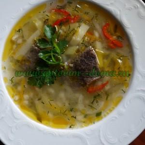 Рассольник готовим дома, рецепт рассольника, суп, рецепт, рецепт с фото