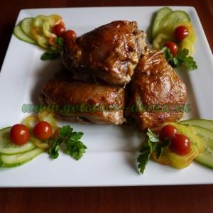 Курочка жареная, мясо, мясо птицы