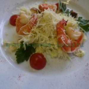 Салат цезарь с креветками готовим дома, рецепт салата цезаря