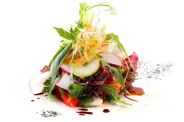 Теплый овощной салат готовим дома