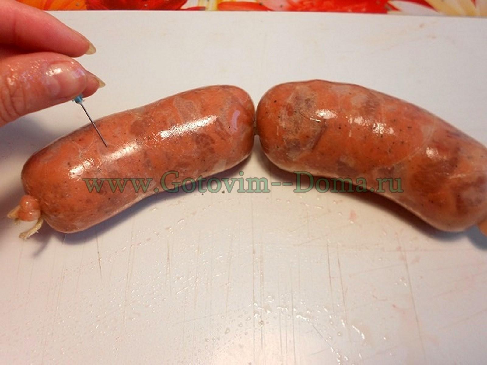 колбаски барбекю секреты приготовления готовим дома