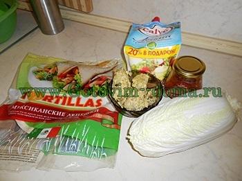 буррито продукты