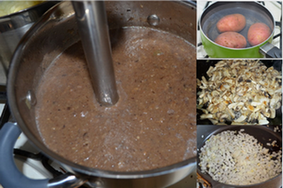 приготовления грибной суп-пюре