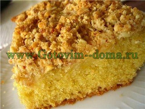 тыквенный пирог готовим дома