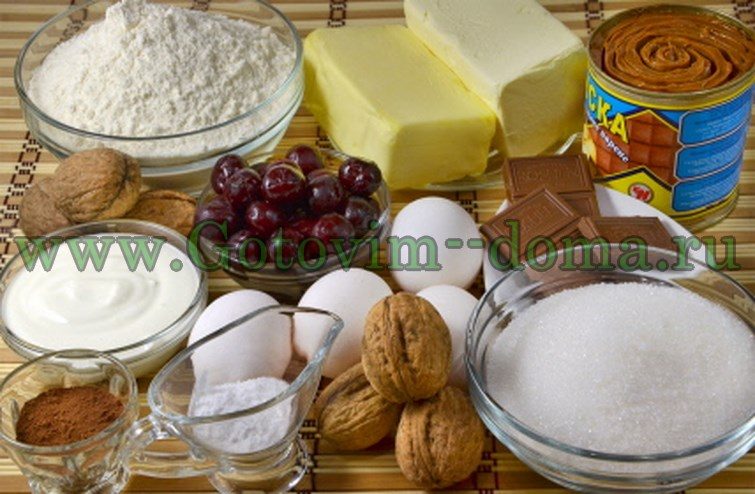 Нарядный торт Паутинка с сюрпризом Готовим длома продукты