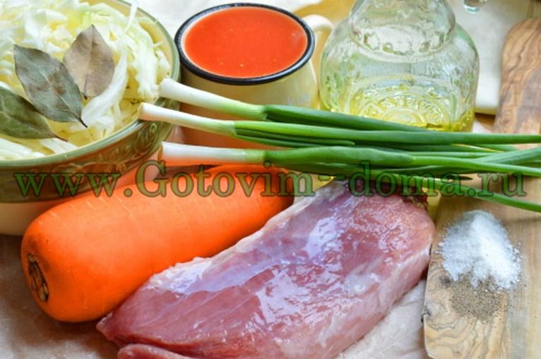 Продукты для приготовления духовой свинины