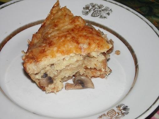 картофельно - грибная шарлотка Готовим дома, кулинария, рецепты