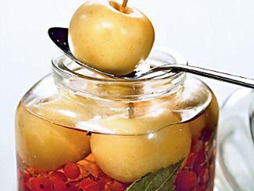 Заготовки из яблок Готовим дома