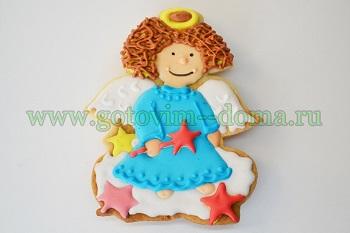 печенье ангел
