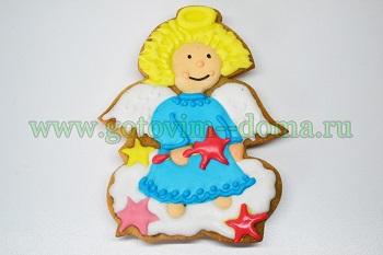 Печенье в глазури