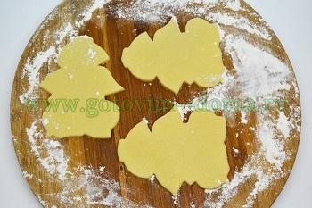 Приготовление печенья,